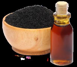 Zwart karwij-olie