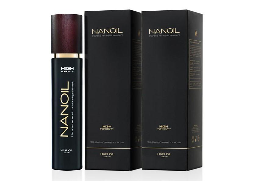 Effectieve haarolie Nanoil
